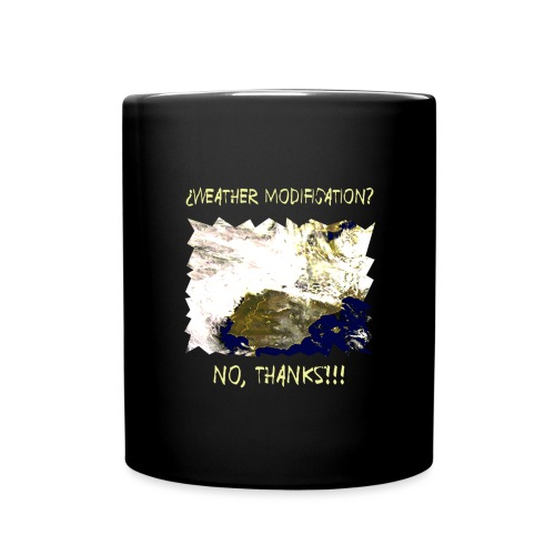 WEATHER DIFICATION NO T - Full Colour Mug