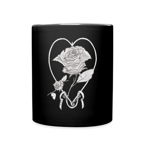 rose de cœur - Mug uni