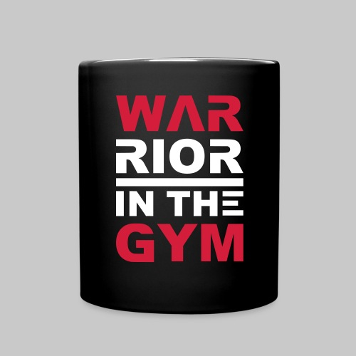 fashion Warrior in the Gym fitness sport 2reborn - Tasse einfarbig