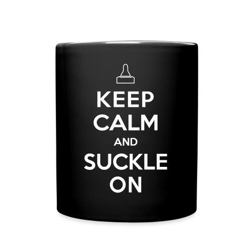 Keep Calm and Suckle On - Tasse einfarbig