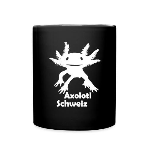 Axolotl weiss - Tasse einfarbig