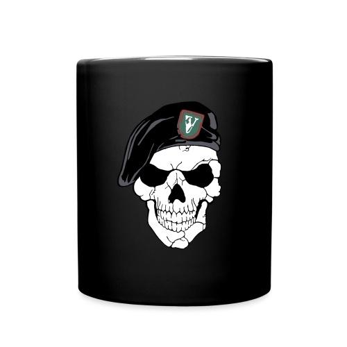 Veterans Platoon Skull - Ensfarvet krus