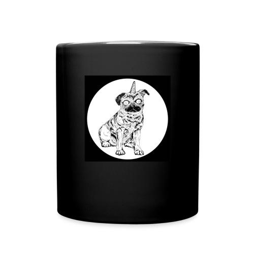 rysunek Pies-Jednorożec - Kubek jednokolorowy