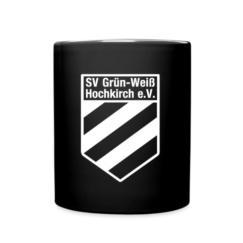 Logo_als_Gif_Weiß - Tasse einfarbig