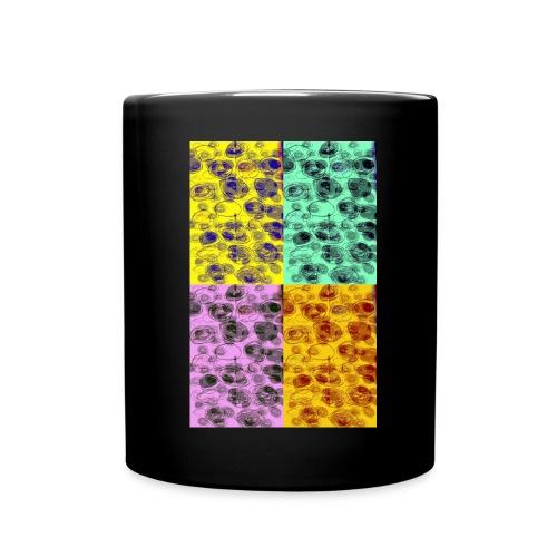 Kreise - Tasse einfarbig