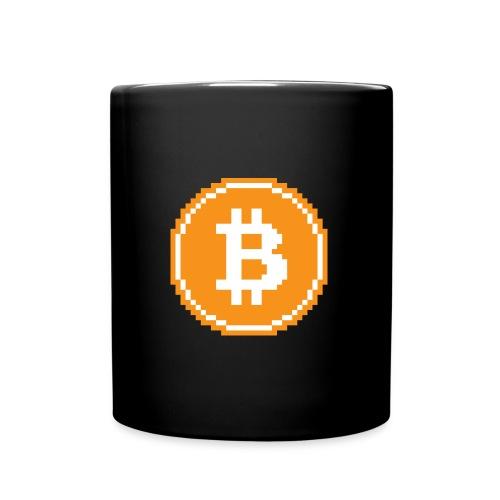 CryptoFR Bitcoin pixel art - Mug uni