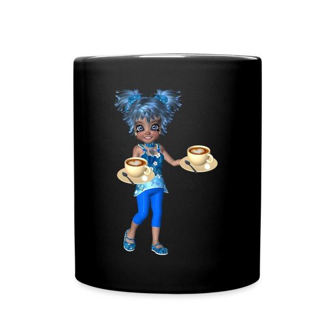 Guten Morgen Kaffee Tasse Einfarbig