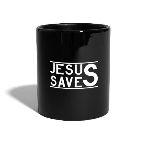 Jesus Saves - Tasse einfarbig