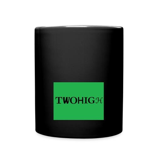 solid green background - Enfärgad mugg