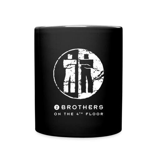 2 Brothers White text - Full Colour Mug
