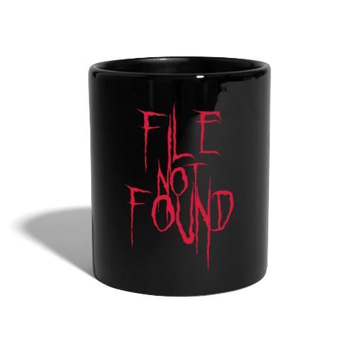File Not Found - Tazza monocolore