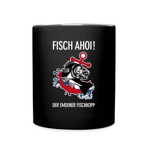 Emdener Fischkopp 1 - Tasse einfarbig