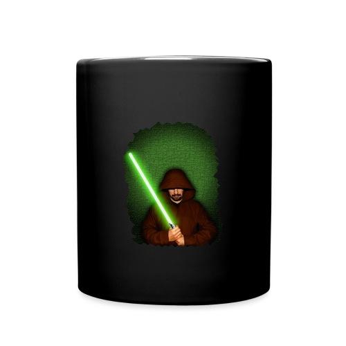 Jedi warrior with green lightsaber - Tazza monocolore