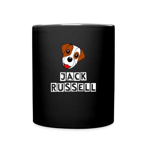 Niedlicher Jack Russell - Tasse einfarbig