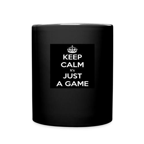 Det är bara ett spel - Enfärgad mugg