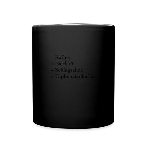 Diplomatenkaffee - Tasse einfarbig