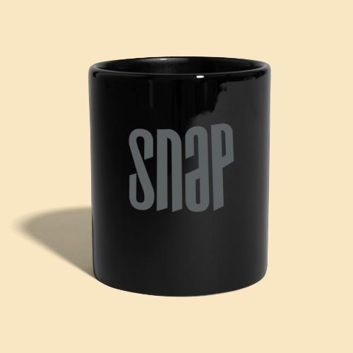 SNAP grau 003 - Tasse einfarbig