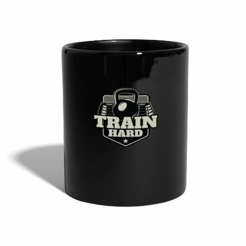 Train Hard - Tasse einfarbig