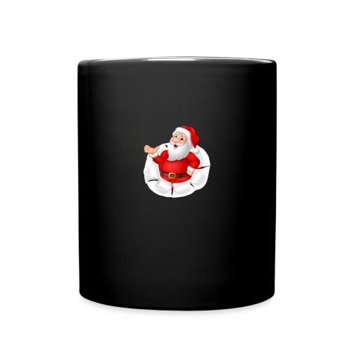 Weihnachtsmann - Tasse einfarbig
