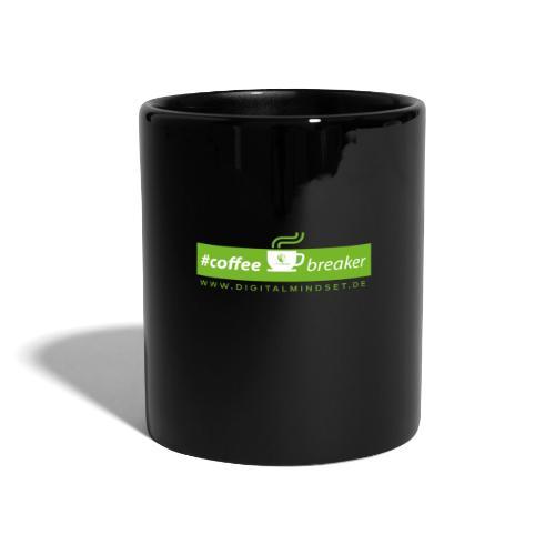 #coffeebreaker - Tasse einfarbig