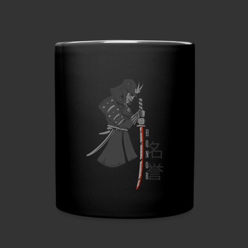 Samurai Digital Print - Full Colour Mug