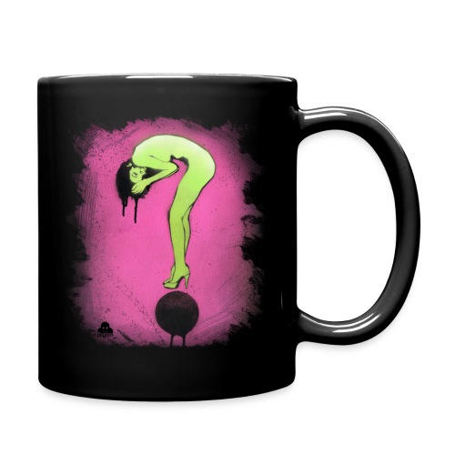 Question Girl - Full Colour Mug