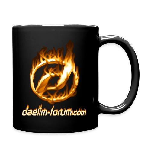 Heißes Daelim Logo (mit heißem Forum URL) - Tasse einfarbig