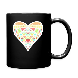 Heart - Taza de un color
