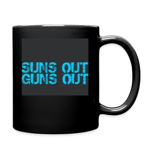 Felpa suns out guns out - Tazza monocolore