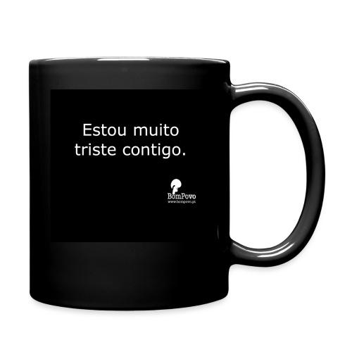 bompovo preta estoumuitotristecontigo - Full Colour Mug