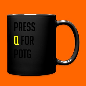 Press Q for play of the game - Full Colour Mug