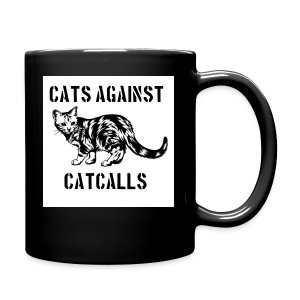 Cats against catcalls - Full Colour Mug