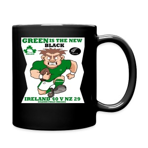 GREEN IS THE NEW BLACK !! - Full Colour Mug
