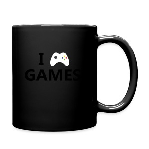 I Love Games - Taza de un color