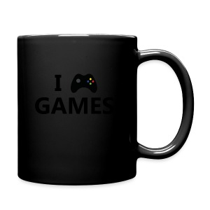 I Love Games 3 - Taza de un color