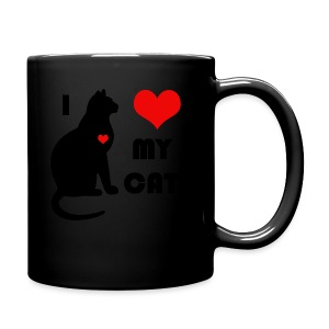 I love my cat - Tasse en couleur