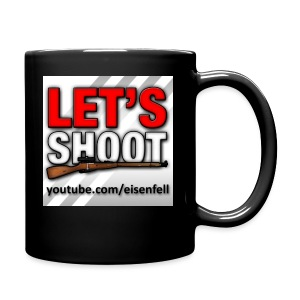 Let's Shoot Logo - Tasse einfarbig