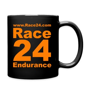 Race24 Logo in Orange - Full Colour Mug