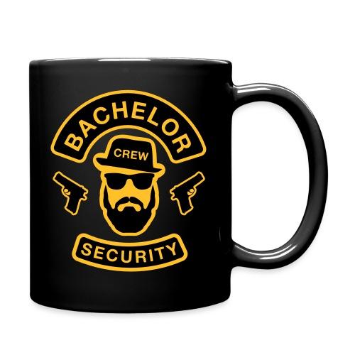 Bachelor Security - JGA T-Shirt - Bräutigam Shirt - Tasse einfarbig