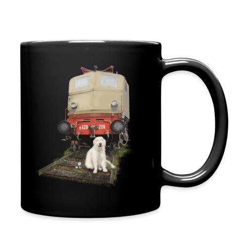 Golden Retriever with Train - Tazza monocolore