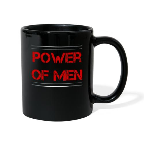 Sport - Power of Men - Tasse einfarbig
