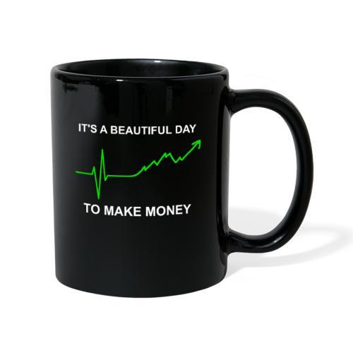 Geld Greys EKG Herzkurve lustig Serien Parodie - Tasse einfarbig