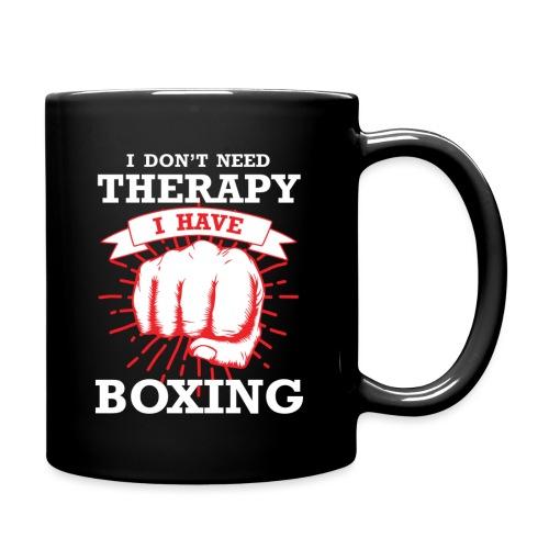 Tasse mit Boxer Spruch - Tasse einfarbig