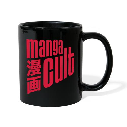 Manga Cult Logo Rot - Tasse einfarbig