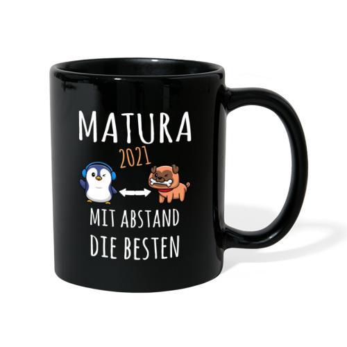 MBA Matura 2021 Hund Pinguin Shirt Geschenk - Tasse einfarbig