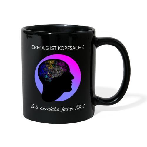 Tasse - Erfolg ist Kopfsache - Tasse einfarbig