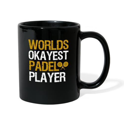 Worlds Okayest Padel Tennis Player - Enfärgad mugg