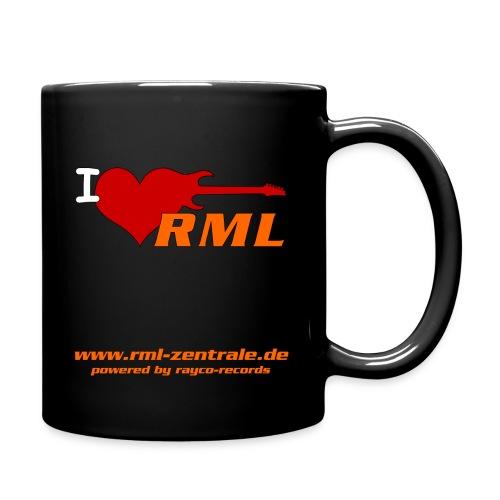 I love RML cup png - Tasse einfarbig