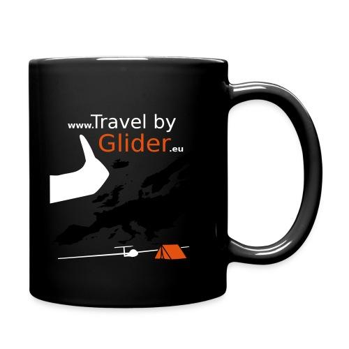 TravelByGlider_Shirt_Logo - Tasse einfarbig