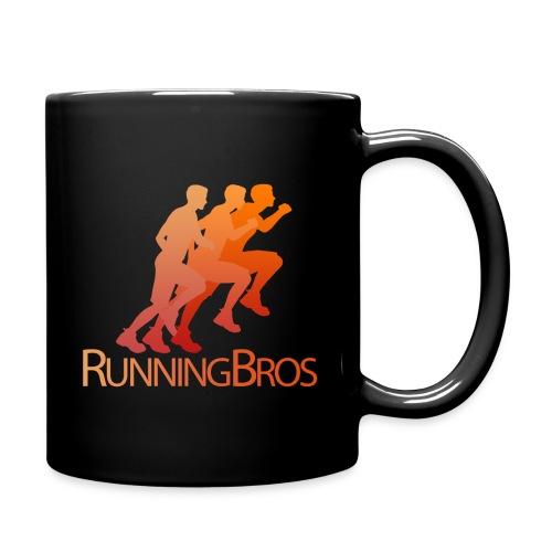 RunningBros Logo farbig - Tasse einfarbig